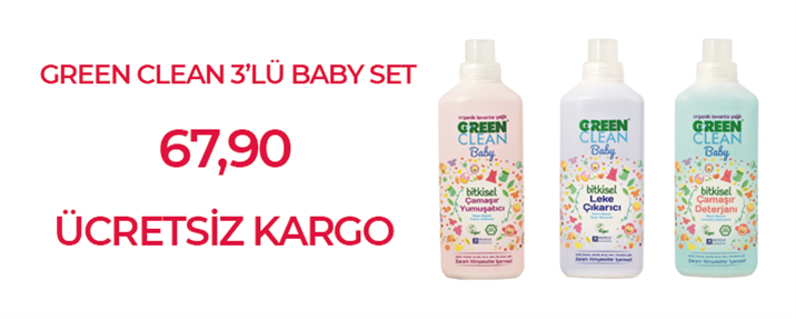 Green Clean Baby Set