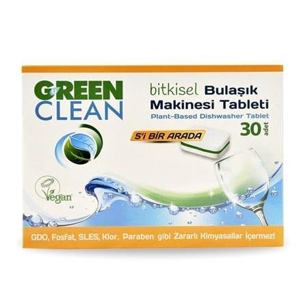 U Green Clean Bulaşık Makinesi Deterjanı Tablet 30'lu